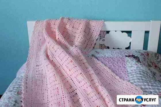 Вяжу пледы на заказ Челябинск