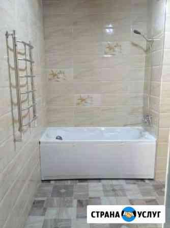Ремонт в ванной комнате Владимир