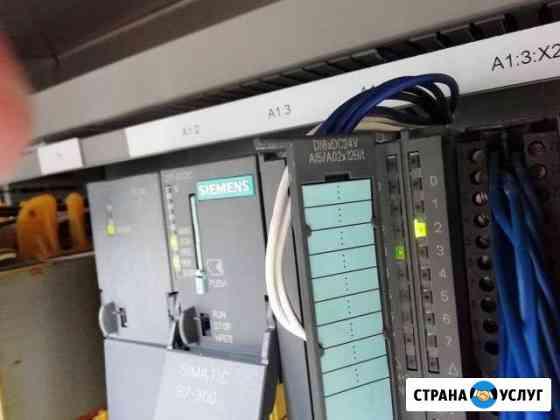 Ремонт и запуск автоматики Siemens B&R Omron Череповец