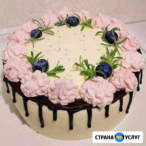 Домашние торты на заказ Елизово