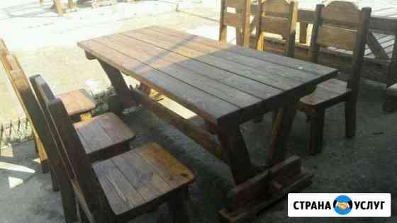 Садовая мебель изготовление Комсомольское