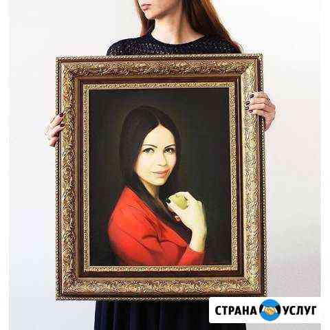 Портрет по фото Нальчик