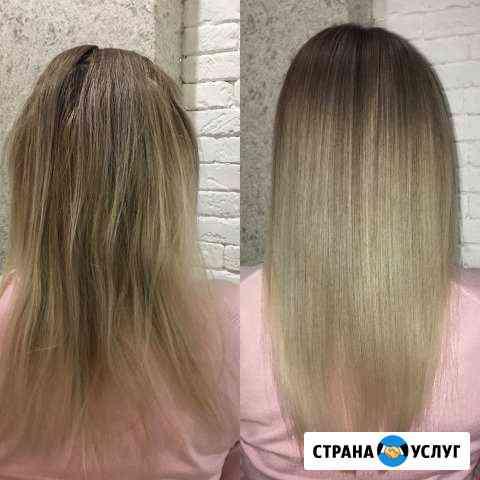 Ботокс и кератин для волос Коломна