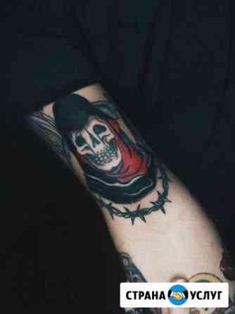 Художественная татуировка Рязань