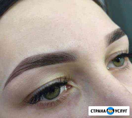 Моделирование и окрашивание бровей в Первомайском Иркутск