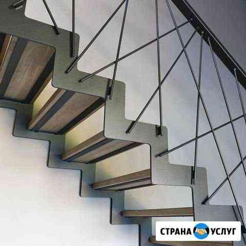 Лестницы, металлокаркасы, перила - изготовление Колпино