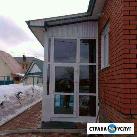 Установка и ремонт пластиковых окон Уфа
