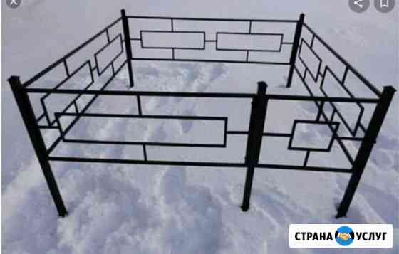 Изготовление оград, установка дверей Комсомольск