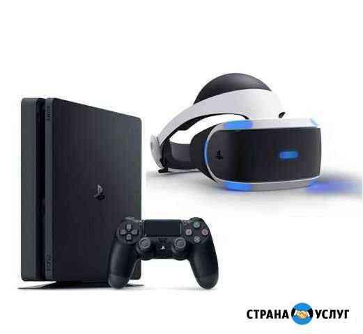 Прокат Sony PS4 + доставка (прокат шлем) Урус-Мартан
