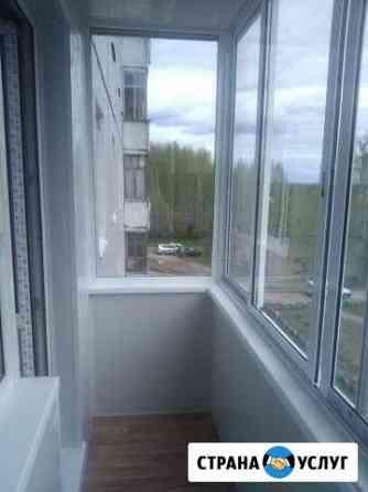 Окна И балконы под ключ Ремонт стеклопакетов,обшив Великий Новгород