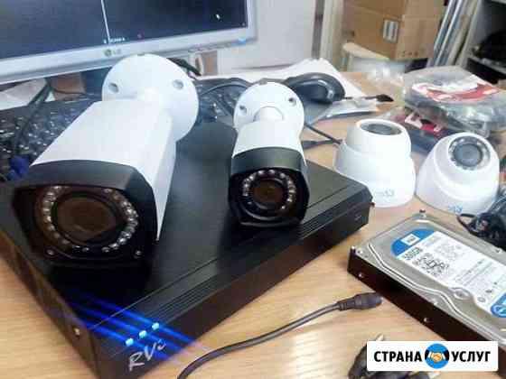 Установка видеонаблюдения Нижний Новгород