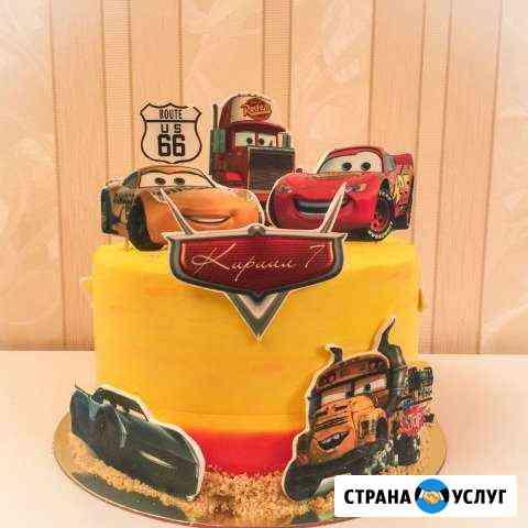 Печать съедобных фото на торт, кексы, шоколад Санкт-Петербург
