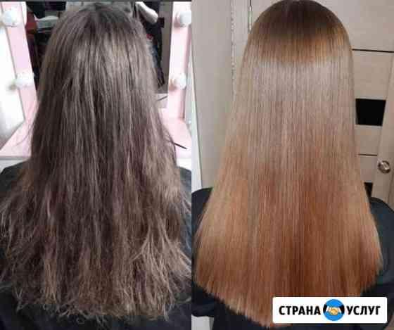 Кератиновое выпрямление волос Чита