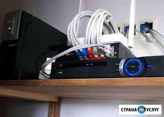 Монтаж и обслуживание видеонаблюдения (ip и ahd) Торжок