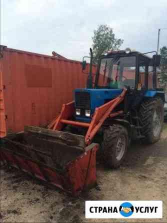 Трактор. Аренда трактора Кимры