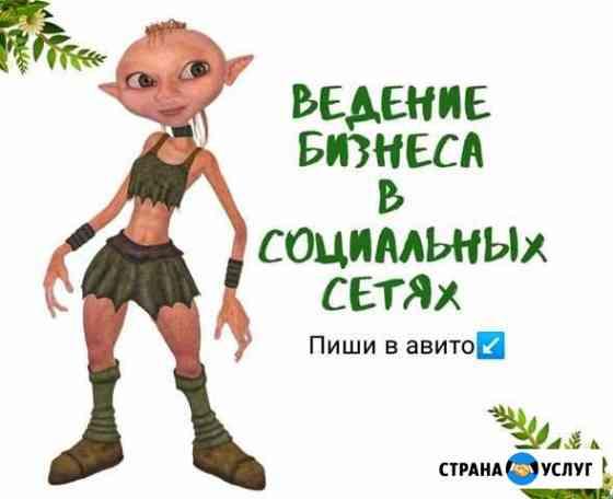 Ведение страниц в социальных сетях Александров