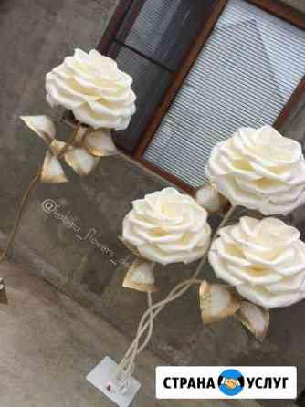 Интерьерные цветы и светильники Буйнакск
