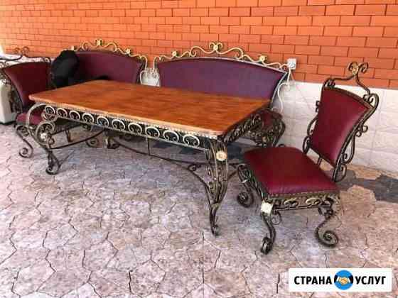 Кованых изделий, ворота, перилы, мебель Орджоникидзевская