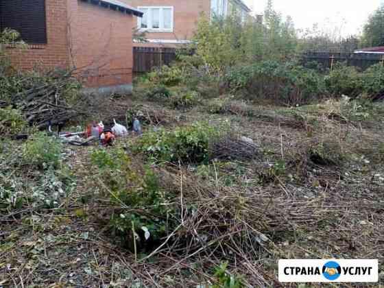 Покос, спил деревьев и кустарника Великий Новгород