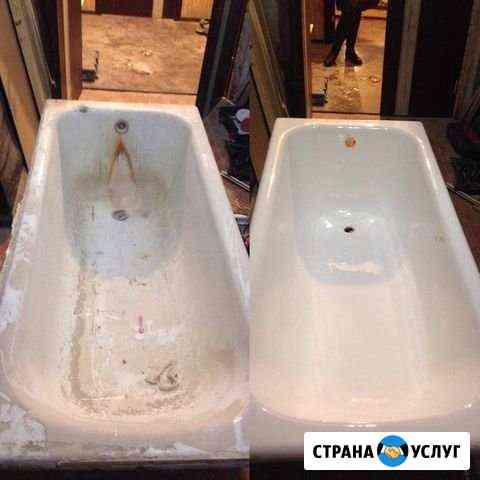 Реставрация ванн жидким акрилом. Честная цена Тамбов