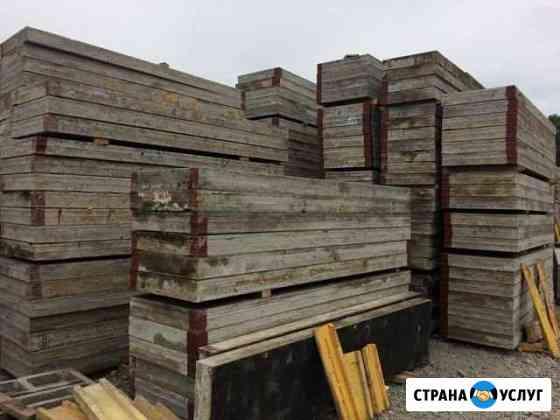 Опалубка для стен и перекрытий Томск
