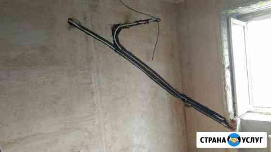 Закладка коммуникаций (трасс) под кондиционеры Омск