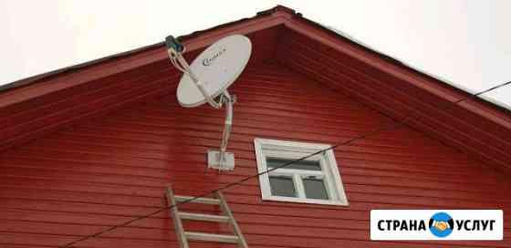 Установка, ремонт антенн Триколор НТВ плюс Александров
