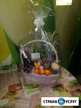 Новогодние, подарочные фруктово-шоколадные корзины Йошкар-Ола
