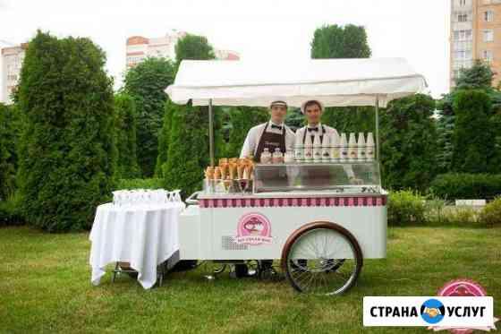 Тележка с мороженым на праздник Доставка на дом Пенза