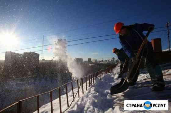 Уборка снега и льда, вывоз снега Уфа