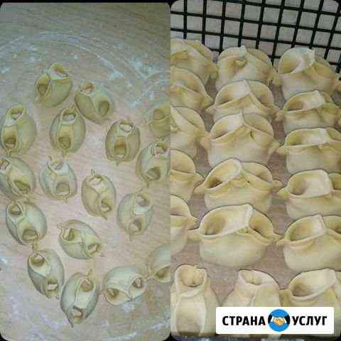 Манты домашние Наурская