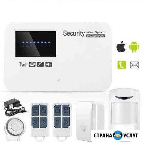 Установка GSM сигнализации в гараж Калининград