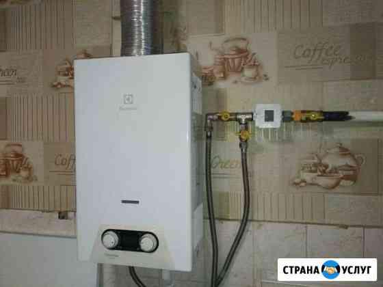 Установка приборов учета газа и воды Тамбов
