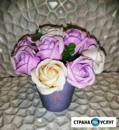 Букет из мыльных роз Ковров