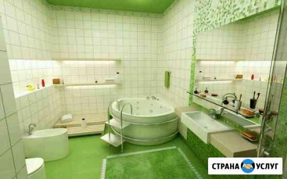 Качественный ремонт ванной комнаты Химки