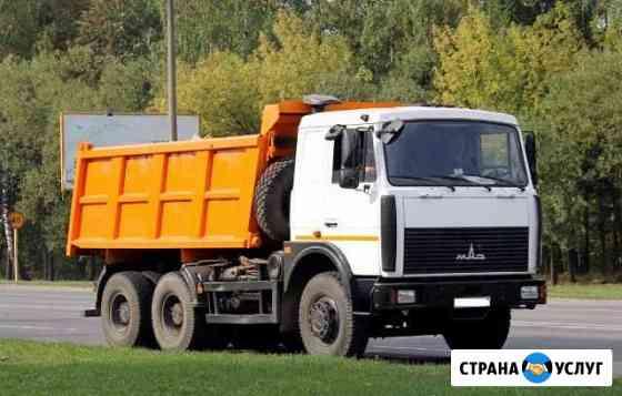 Продажа и доставка щебня, песка, грунта Озерск