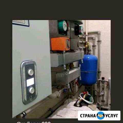 Ремонт газовых котлов, монтаж систем отопления Старый Оскол