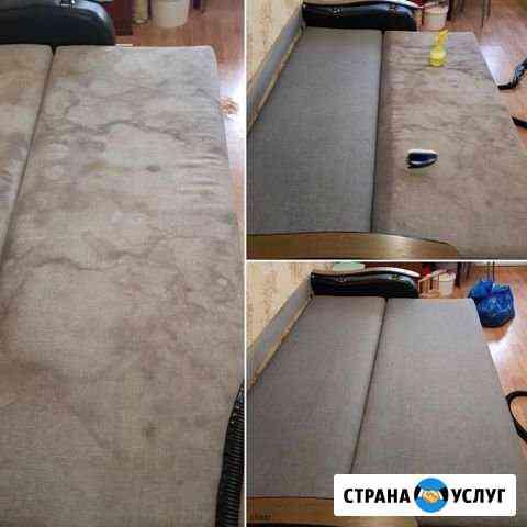 Бережная химчистка мебели, ковров и матрасов Йошкар-Ола