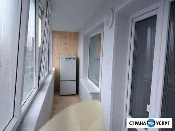 Отделка балконов, помещений Томск