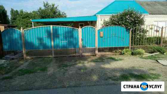 Забор,навесы, беседки Тбилисская