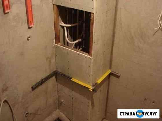 Укладка плитки + ремонт ванной под ключ Плиточник Пенза