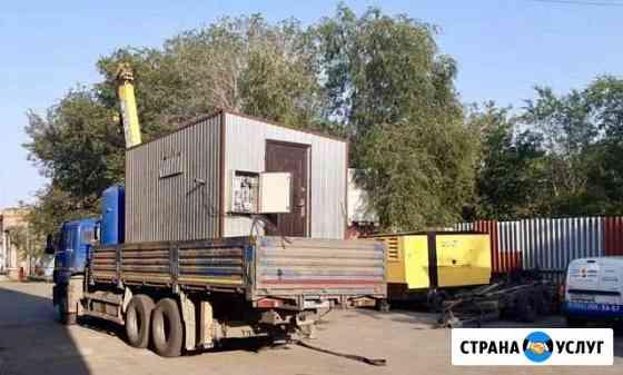 Аренда компрессорной станции в контейнере Челябинск
