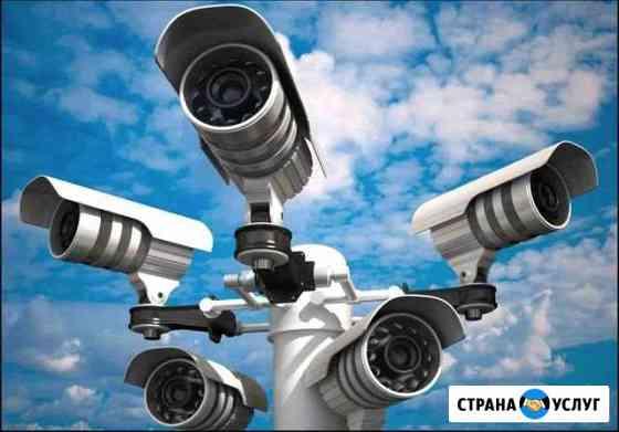 Видеонаблюдение установка, видеодомофоны и т.д Братск