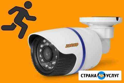 Установка видеонаблюдения за 2 дня Омск