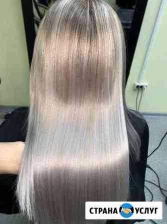 Наращивание волос, ботокс для волос-лечение Братск