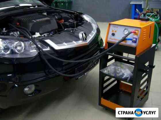 Промывка автомобильных печек без снятия, на профес Чита