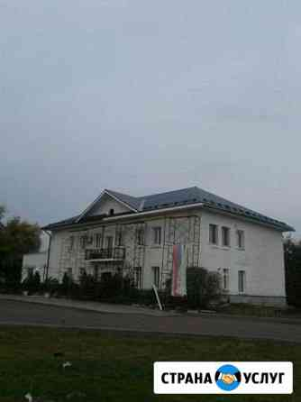 Крыши, фасады, строительные работы Нижний Кисляй