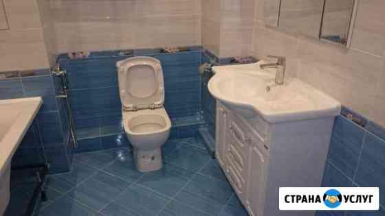 Ремонт ванной(Санузла) под ключ Саратов