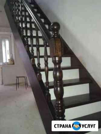 Лестницы из дерева Хабаровск