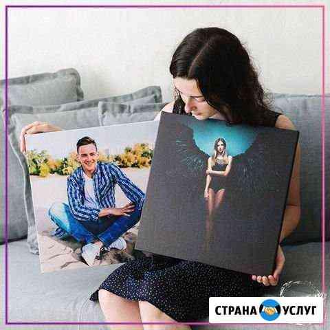 Печать фото на холсте, портрет, картина на холсте Чебоксары